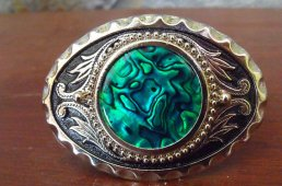 Abalone Shell Belt buckle